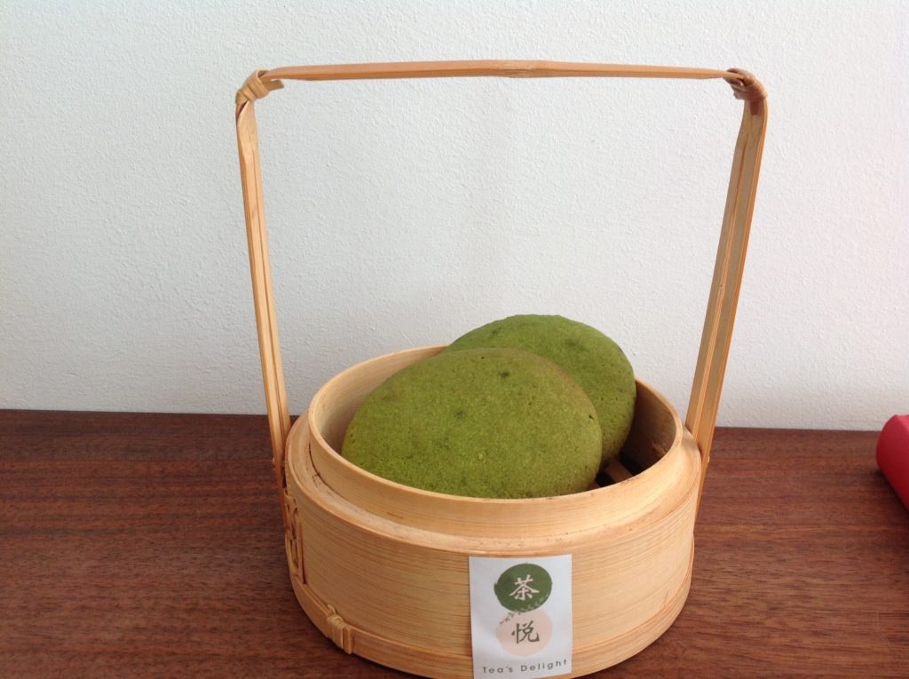 Homemade matcha cookies @Tea's Delight